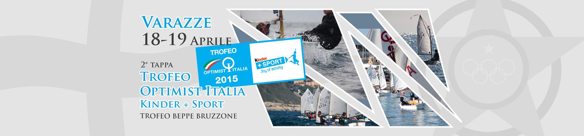 Trofeo Optimist Italia 2015 Kinder + Sport Trofeo Beppe Bruzzone