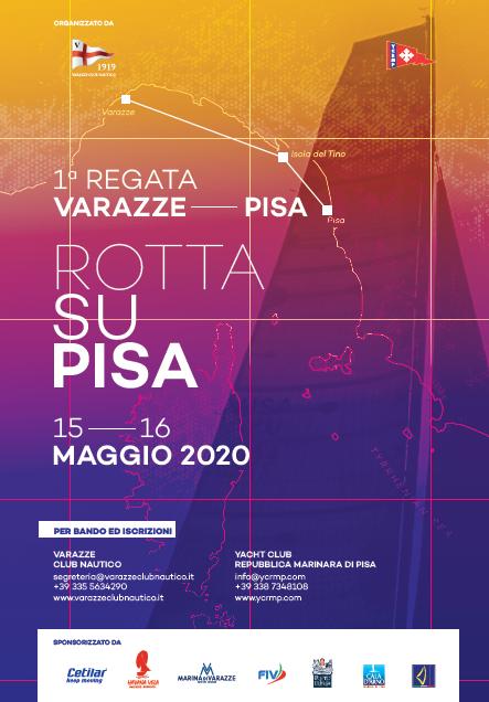 Annullamento regata Rotta su Pisa 2020