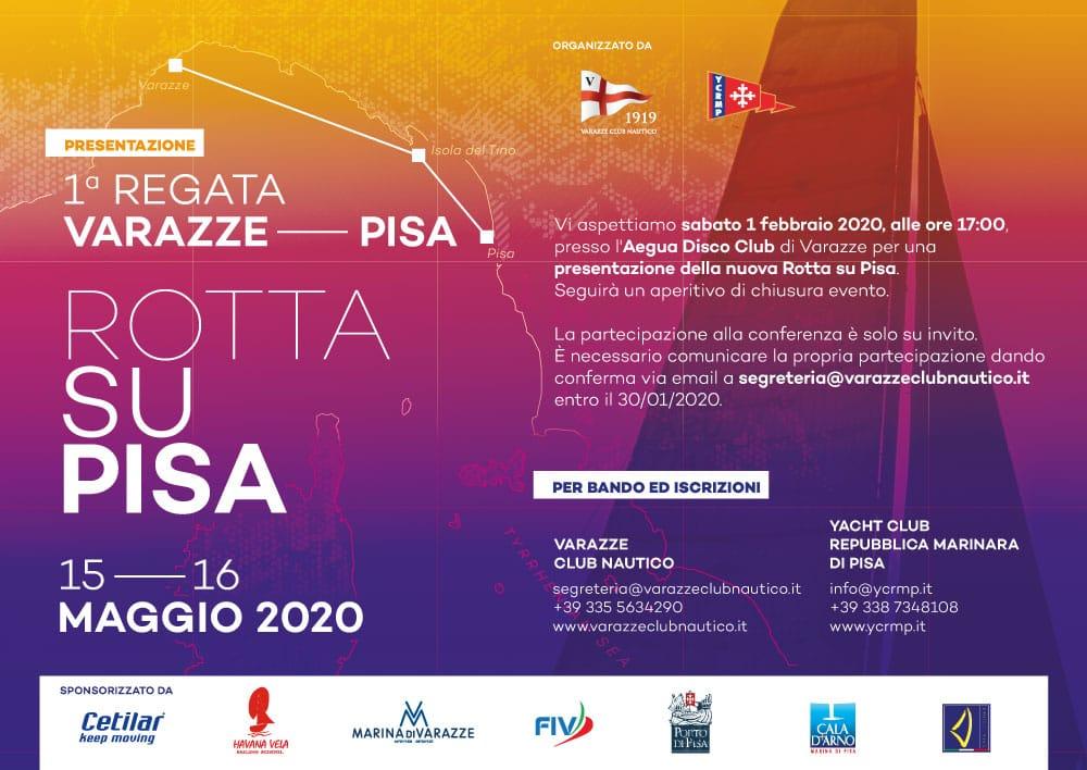 """Grande partecipazione alla presentazione della """"Rotta su Pisa"""""""